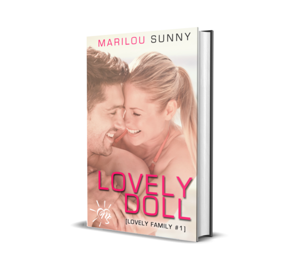 marilou sunny, livre broché, lovely family, lovely doll, 1,livre,romance,eau de rose